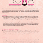 BCA  Breast Cancer Action